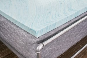DreamFoam memory foam cooling mattress topper, best cooling mattress toppper
