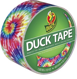 Duck Brand Color Printed Duct Tape
