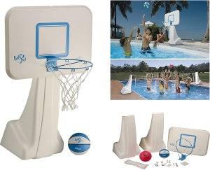 Dunnrite Products 2-in-1 basketball hoop, pool basketball hoop