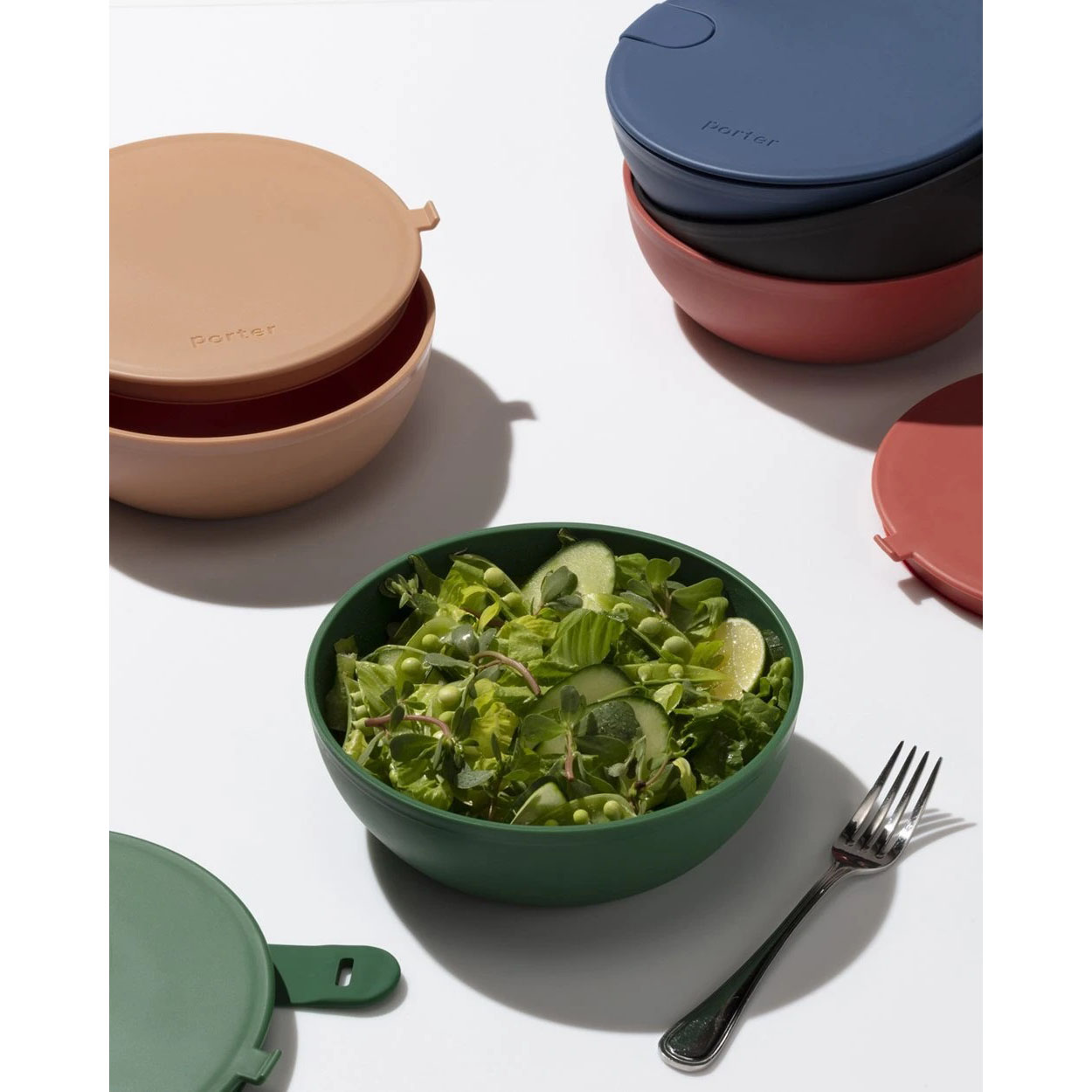 best gifts for him - colorful to-go W&P Porter Bowls