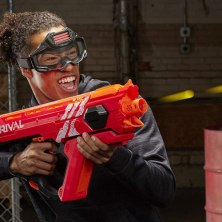 obliterate your backyard enemies with an automatic nerf gun