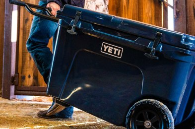 buying a cooler with wheels will make your life so much easier this summer