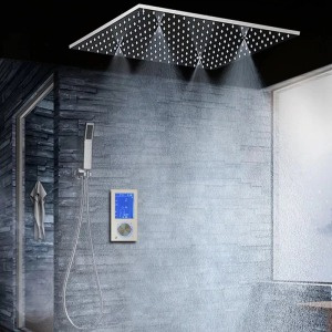 FS9645 Flagstaff Digital Touch Thermostatic Complete Shower System