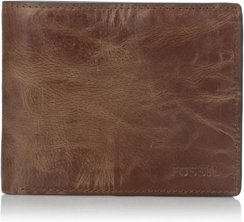 Fossil Derrick Leather RFID Wallet