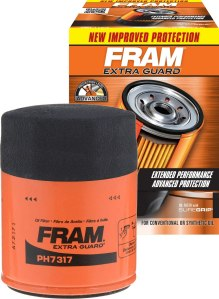 FRAM spin-on oil filter, how to change your oil