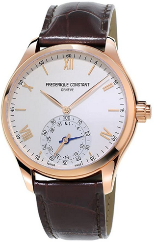 Frederique Constant horological gold and white smart watch