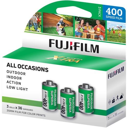 Fujifilm Fujicolor Superia X-TRA 400 35mm Film