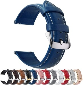 Fullmosa Quick Release Leather Watch Band