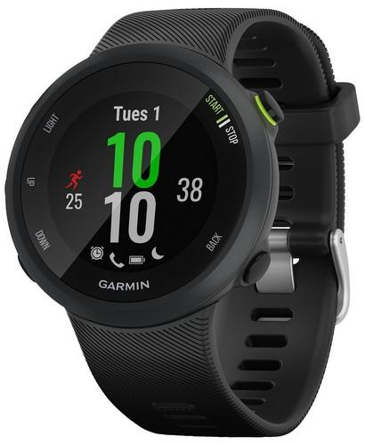 Garmin black forerunner 45 smart watch