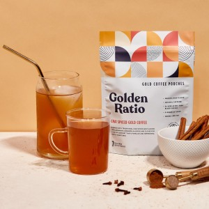Chai Spiced Gold Coffee Pouches