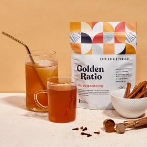Chai Spiced Gold Coffee Pouches