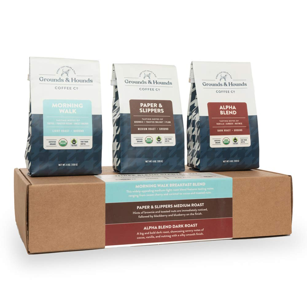 Grounds & Hounds Three Blend Starter Kit