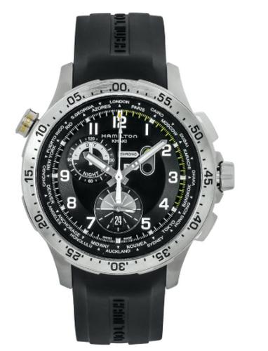 Hamilto khaki worldtimer chronograph