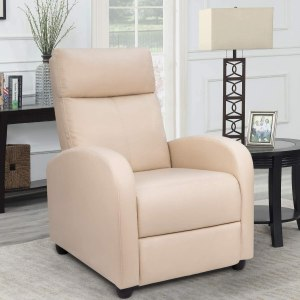 Homall Single Recliner Chair Padded Seat