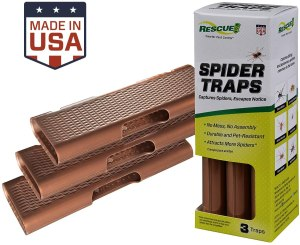Rescue! spider traps, spider catcher, best spider catcher
