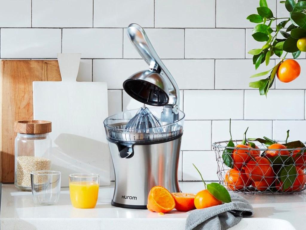 hurom citrus juicer review