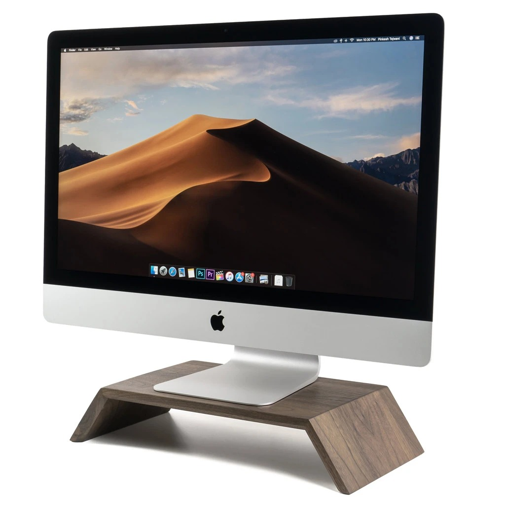 OAKYWOOD Wooden Monitor Stand