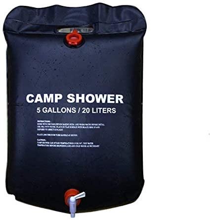 Allnice solar camping shower