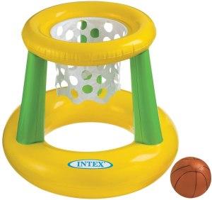 intext floating pool basketball hoop