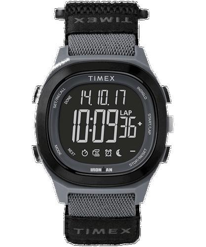 Timex black and grey Ironman watch