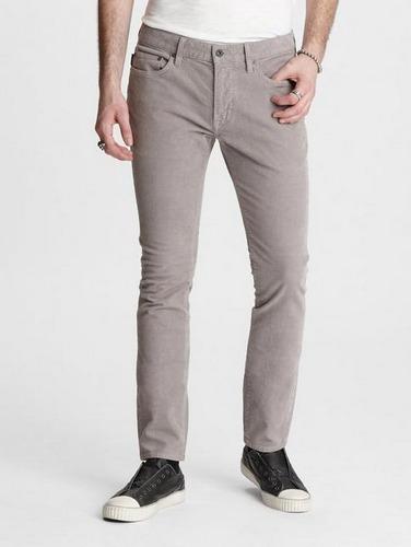 gray john varvatos wite corduroy pants