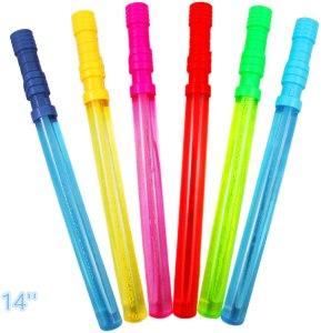Joyin Toy 12 Pack of Big Bubble Wands