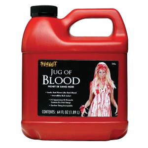 Spirit Halloween Half-Gallon of Fake Blood