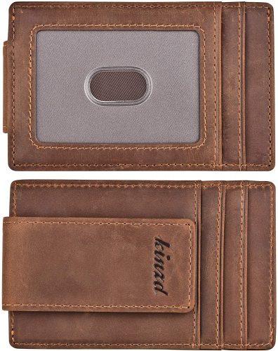 kinzd Money Clip Front Pocket Wallet