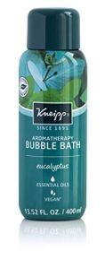 Kneipp eucalyptus bubble bath, best bubble bath