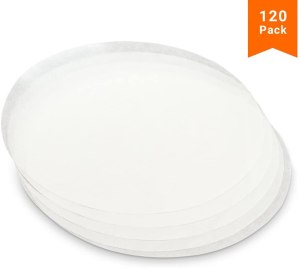 tortilla maker kook round parchment paper