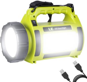 rechargeable flashlight le