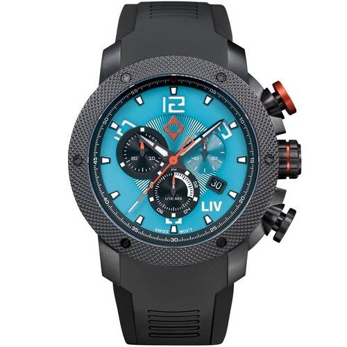 LV GX1 tj blue dial chronograph