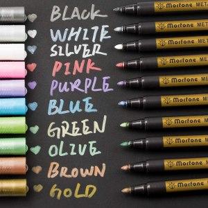 Morfone Metallic Marker Pens