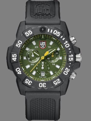 Luminox navy seal green dial chronograph