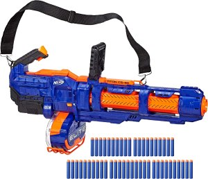 automatic nerf gun - Nerf Elite Titan CS-50 Toy Blaster