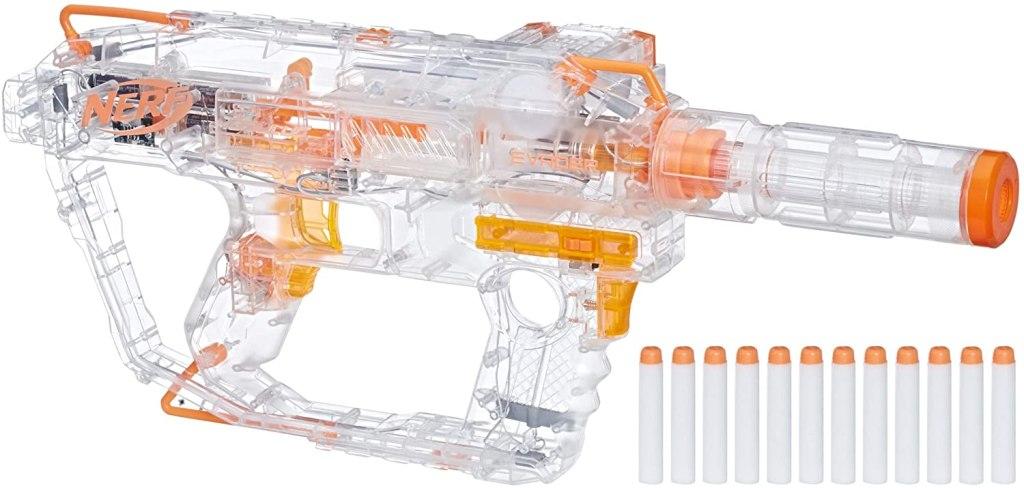 Nerf Evader Modulus Light-Up Toy Blaster, best nerf guns for adults