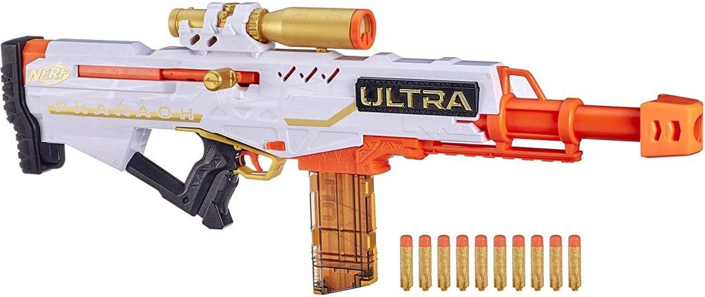 best nerf guns - NERF Ultra Pharaoh Blaster
