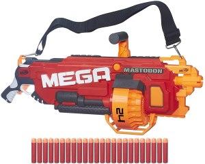automatic nerf gun - Nerf N-Strike Mega Mega Mastodon