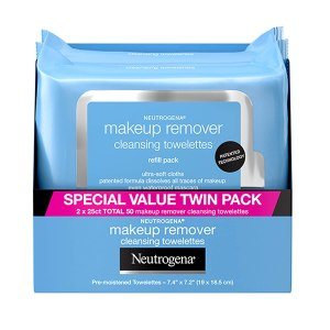 Neutrogena cleansing wipes, makeup remover wipes, how to get grease stains out of clothes