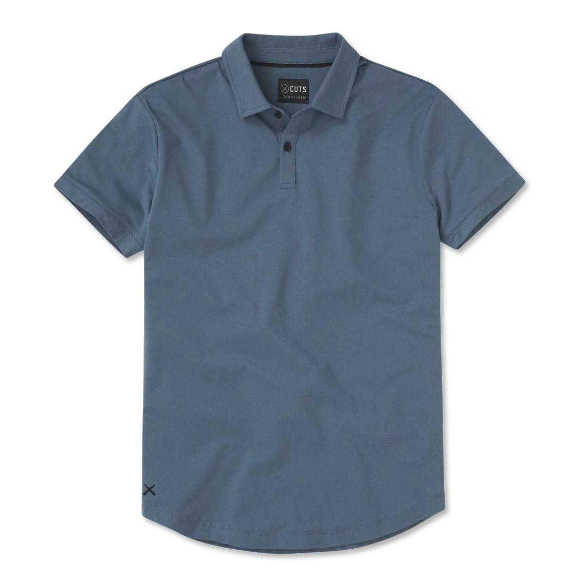 Cuts Clothing Polo Curve-Hem