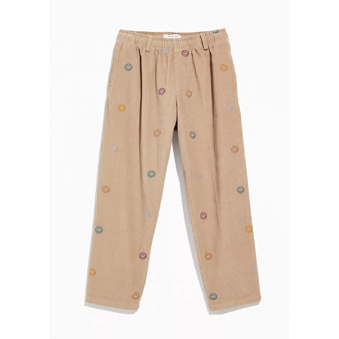 UO Embroidered Corduroy Beach Pant