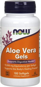 NOW aloe vera supplements, benefits of aloe vera