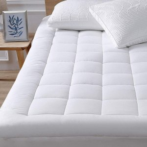 oaskys cooling mattress pad, best cooling mattress topper