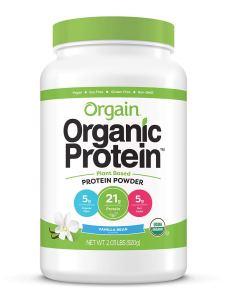 best protein powders: Orgain organic protein powder