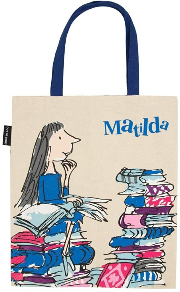 Out of Print Literary Mathilda Tote