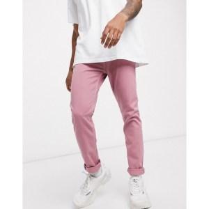 ASOS Design Skinny Jeans in Pink