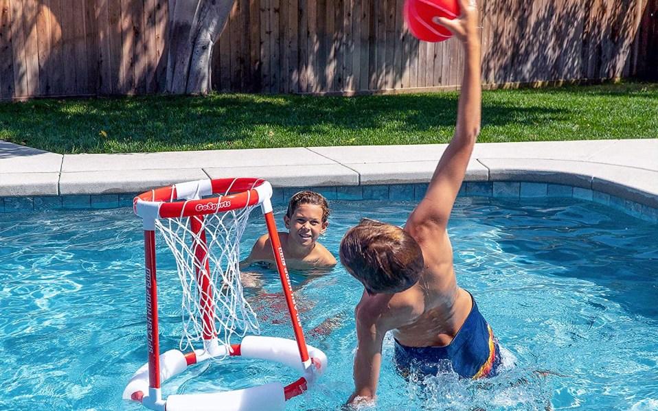 pool basketball hoop, best pool basketball