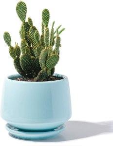 POTEY Ceramic Plant Pot