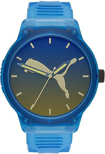 Puma blue men's quartz watch