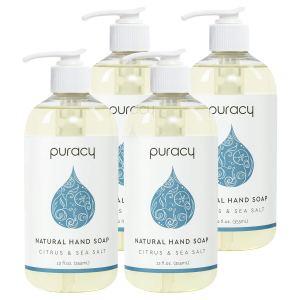 puracy liquid hand soap, antibacterial hand soap